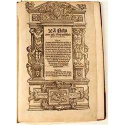 Book of Early Protestant Work Authored by Thomas Bacon
