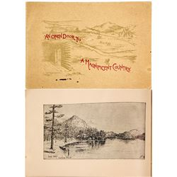 Spokane Falls and Northern Railway, Spokane Falls, WA Promo Booklet