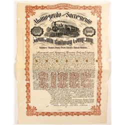 Alamagordo and Sacramento Mountain Railway CO bond