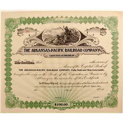 Arkansas - Pacific Railroad Company