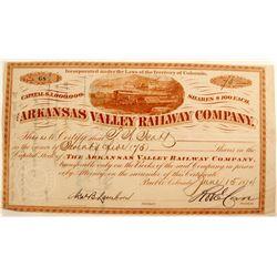 Arkansas Valley Railway Co.