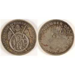 Brotherhood of Railrod Trainmen Medal