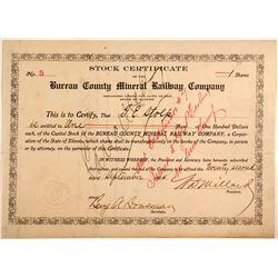 Bureau County Mineral Railway Company
