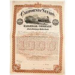 California and Nevada Railroad Company