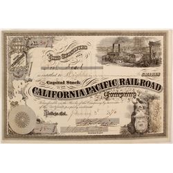 California Pacific Railroad CO.