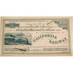 California Railway Capital Stock