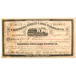 California Street Cable Railroad Co.