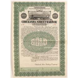 Chickasha Street Railway Company Bond