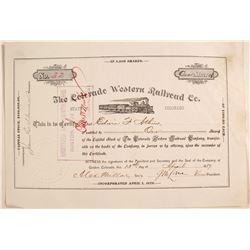 Colorado Western Railroad Co.