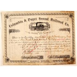 Columbia & Puget Sound Railroad Co