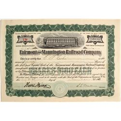 Fairmont & Mannington Railroad Company, WV