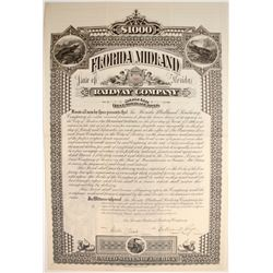 Florida Midland Railway Company 1st Mortgage