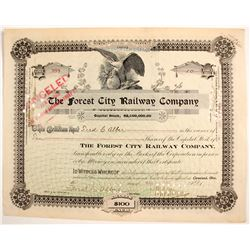 Forest City Railway Company stock