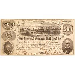 Fort Wayne & Southern Rail Road Company