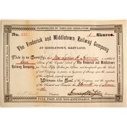 Frederick and Middletown Railway Company