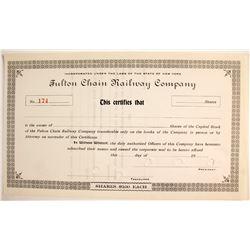 Fulton Chain Railway Company