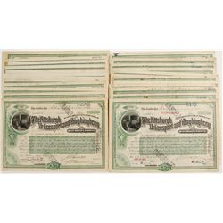 Pittsburgh, McKeesport and Youghiogheny Railroad Company Stock Certificates