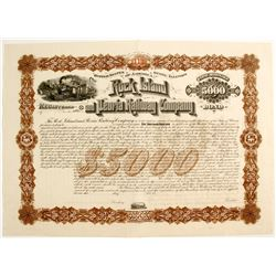 Railroad Stock Certificate