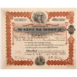 Railway Mail Equipment Co  stock
