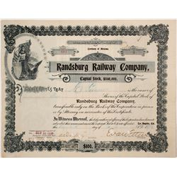 Randsburg Railway Co stock