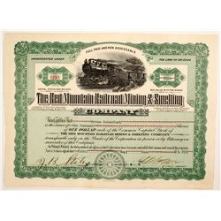 Red Mountain Railroad Mining & Smelting Co  Stock
