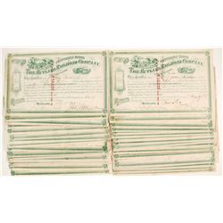 Rutland Railroad Company Stock Certificates
