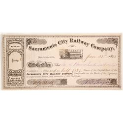 Sacramento City Railway Co stock
