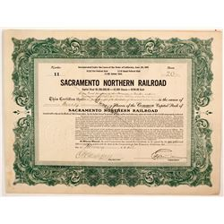 Sacramento Northern Railroad stock