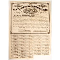 San Francisco and North Pacific Railroad Co.  bond