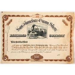 San Francisco Ocean Shore Railroad Co. 1st  DIv.