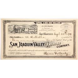 San Juan Valley Railroad Co. stock