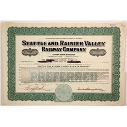 Seattle and Rainier Valley Railway Co stock