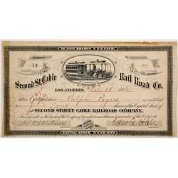 Second St. Cable Railroad Co stock