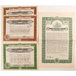 Sierra Railroad Co stock (3) Bond (1)
