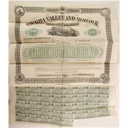 Sierra Valley and Mohawk Railroad Co  BOND