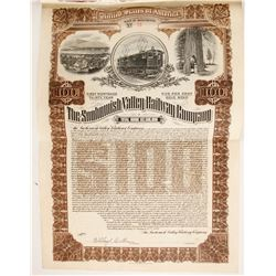 Snohomish Railway Co Bond