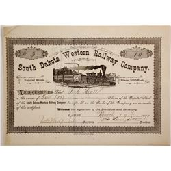 South Dakota Western Railway Co Stock