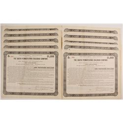 South Pennsylvania Railroad Company Bond Certificates