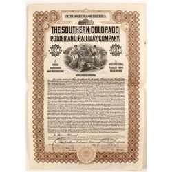 Southern Colorado Power and Railway Co Bond