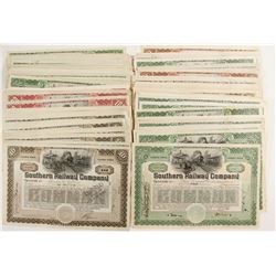Southern Railway Company Stock Certificates