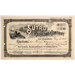 Sutro Railroad Co Stock
