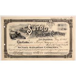 Sutro Railroad Co Stock