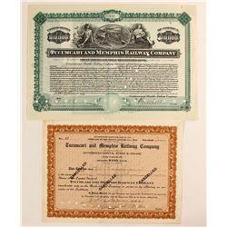 Tucumcari and Memphis Railway Co Stock/Bond