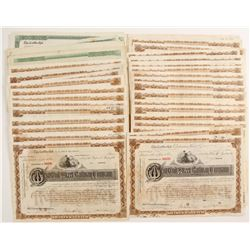 West End Street Railway Company Stock Certificates