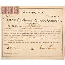 Western Oklahoma Railroad Co. stock