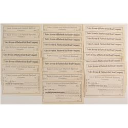 Yates Avenue & Flatbush Rail Road Company Stock Certificates