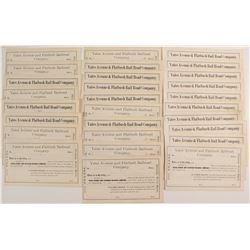 Yates Avenue & Flatbush Rail Road Company Stock Certificates
