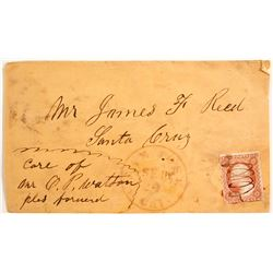 James Reed (Donner Party) Postal Cover