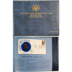 US Commemorative Stamp Covers - Gold Collection