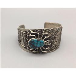 PHILANDER BEGAY Bracelet with NICE Turquoise